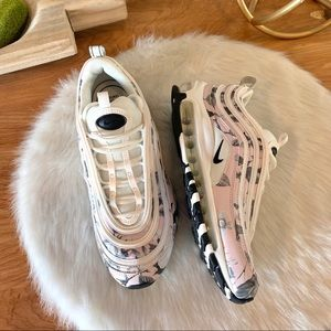 Nike Air Max 97 soft floral- like new